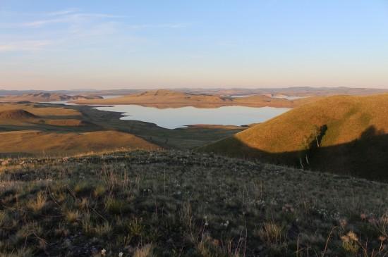 Экспедиция на территории Минусинской котловины